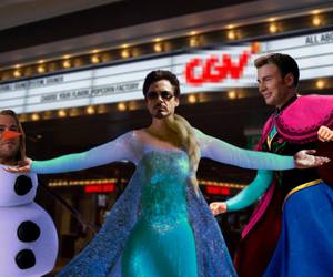 Avengers and frozen image