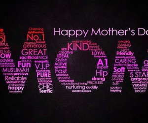 mom, mother, and happy mother's day image