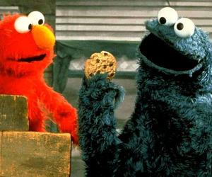 elmo cookie monster love image