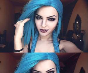 jinx, league of legends, and cosplay image