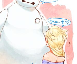 disney, frozen, and big hero 6 image