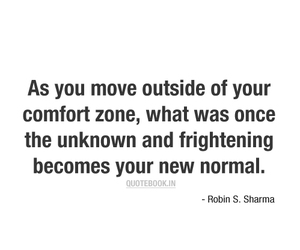 anxiety, comfort zone, and inspiration image