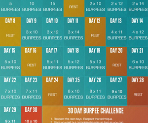 workout, challenge, and fitspo image