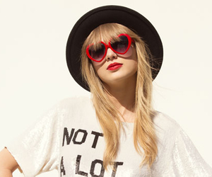 Taylor Swift, 22, and red image