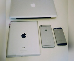 apple, happy, and smile image