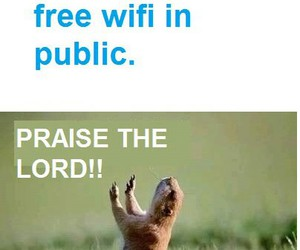 funny, wifi, and lol image
