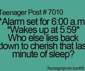 funny, sleep, and teenager post image
