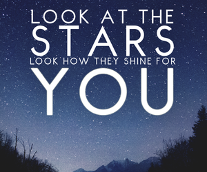 stars, shine, and you image