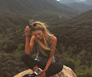 girl, blonde, and travel image