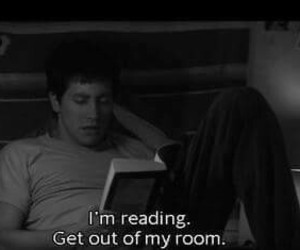 book, reading, and donnie darko image