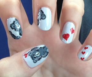 bears, drawing, and girl image