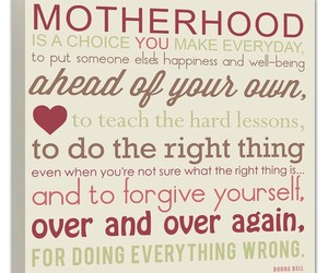 motherhood and quotes image