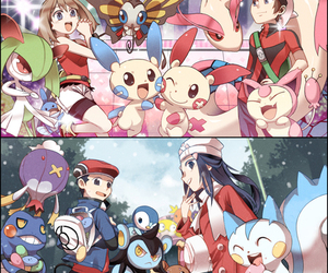 pokemon and pokemon trainer image