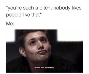 funny, supernatural, and adorable image