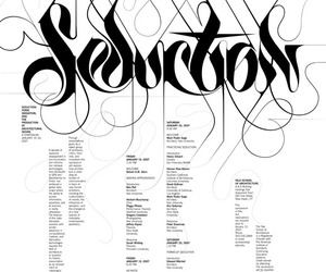 marian bantjes, poster, and typography image