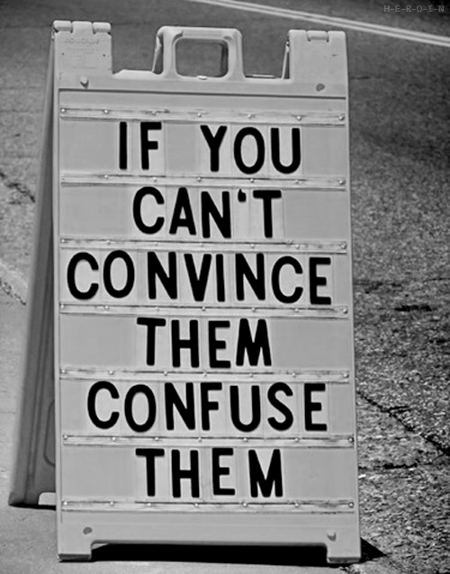 convince, f, and frases image