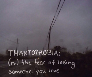 fear, love, and thantophobia image