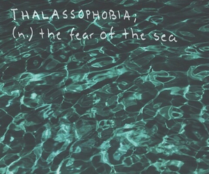fear, grunge, and ocean image