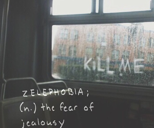 fear, grunge, and jealousy image