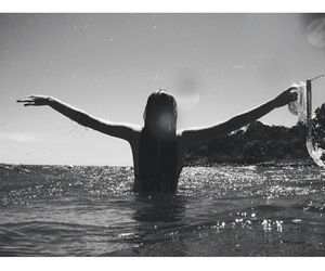 beautiful, black and withe, and body image