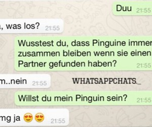 chats, couple, and deutsch image