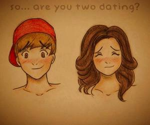 dating, couple, and jelena image