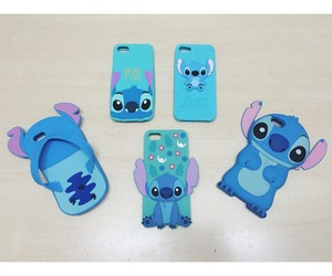 blue, stich, and iphonecase image