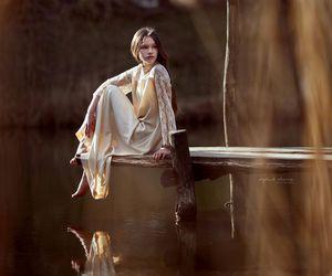art, dress, and fairytale image