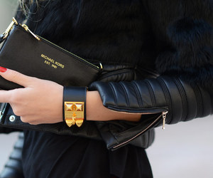 fashion, black, and Michael Kors image