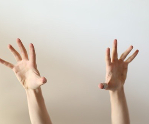 hands, pale, and tumblr image