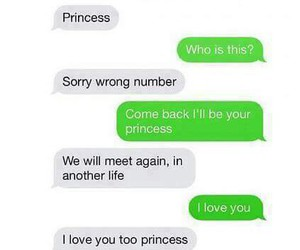 princess, text, and love image