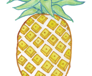 fruit, inspiration, and pineapple image