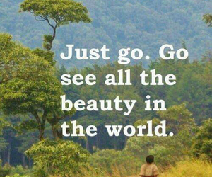 quotes, travel, and beauty image