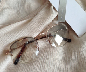 glasses, beige, and brown image