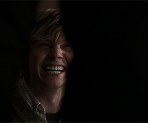 evan peters, american horror story, and tate langdon image