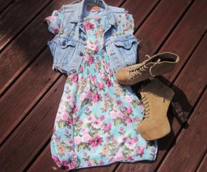 fashion, dress, and shoes image