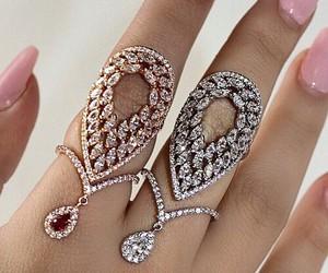 beauty, white, and diamond image