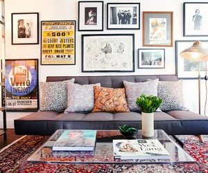 living room, decor, and diy image