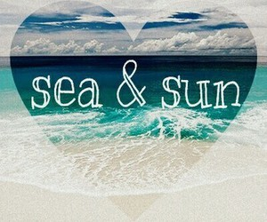 sea, sun, and summer image