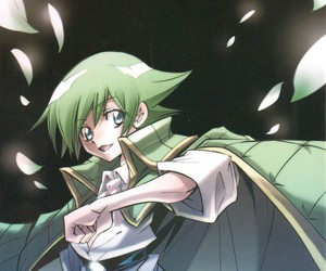 green hair, sk, and anime boy image