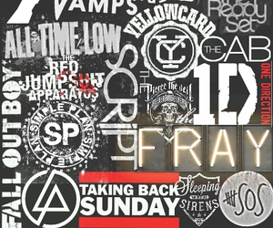band, all time low, and fall out boy image
