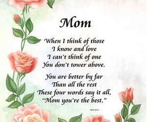 mothers day and mothers day poems image