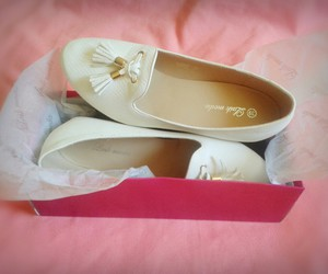 shoes, white, and simply image