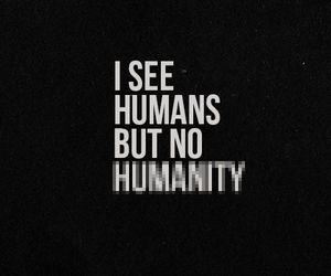 humanity and quote image