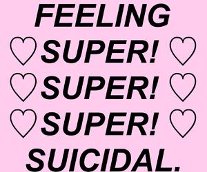 feelings, sad, and suicidal image