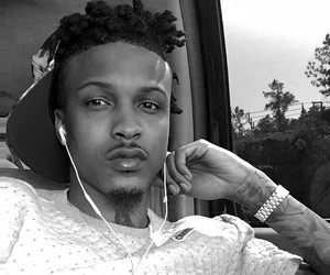 august alsina, boy, and bae image