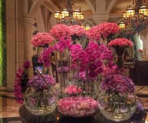 Dubai, flowers, and luxury image