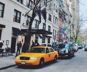cities, city, and taxi image