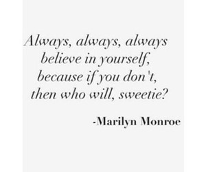 Marilyn Monroe, quote, and the good vibe image