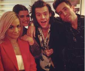 Harry Styles, one direction, and rita ora image